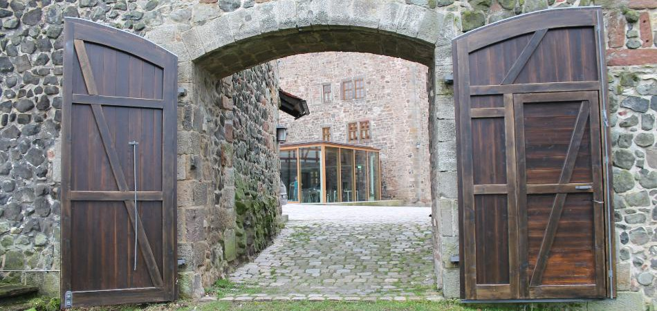 Speisesaal Burg Fürsteneck