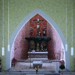 Innensanierung der kath. Kirche in Rommerz