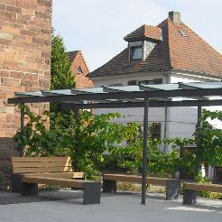 Kirchplatzgestaltung der kath. Kirchengemeinde St. Elisabeth, Hanau
